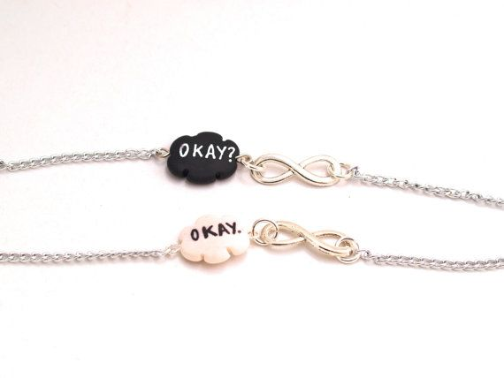 The Fault in Our Stars Inspired Bracelet BFF by MignonnerieShop