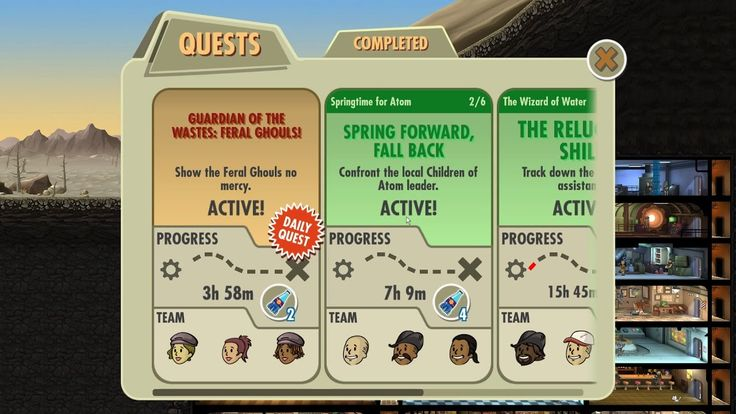 Fallout Shelter Springtime for Atom Spring Forward, Fall Back