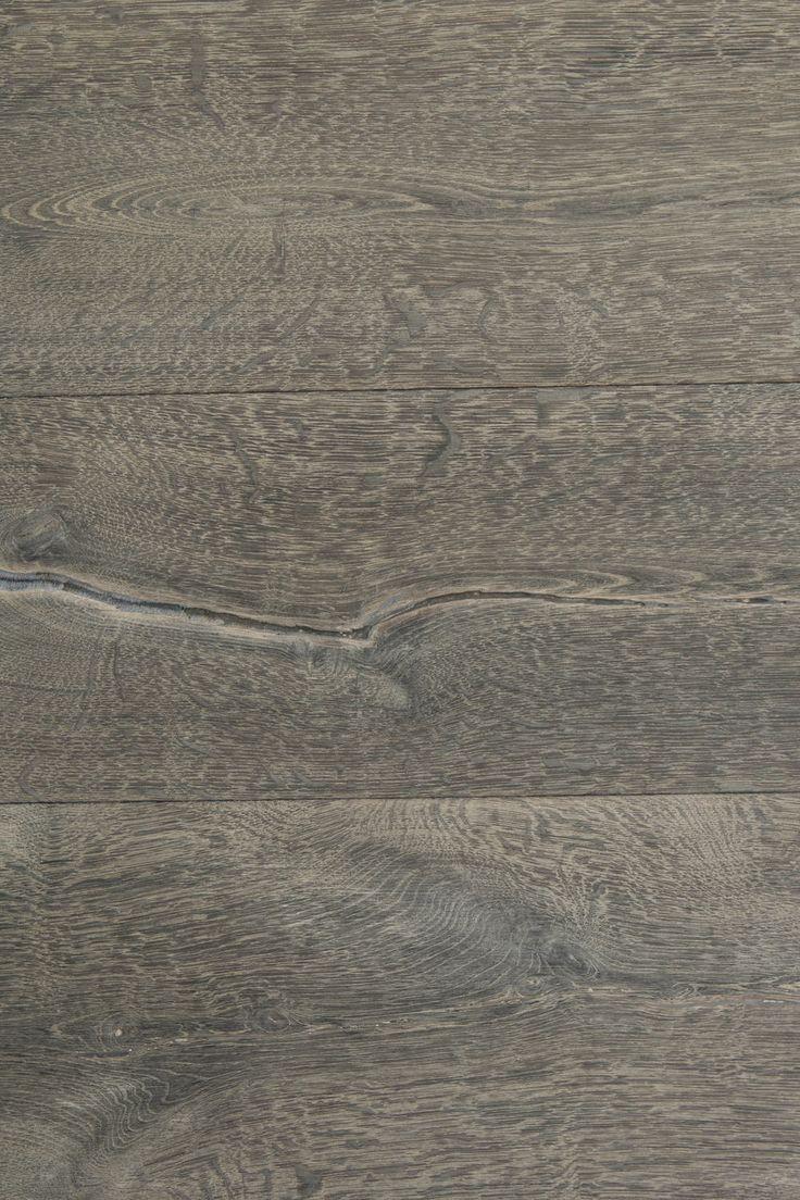 Aged Grey Oak - Waved Oak Flooring
