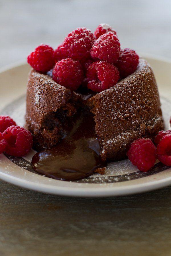 Molten Chocolate Lava Cakes | Lauren's Latest