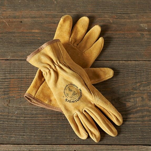 Sturdy leather work gloves will help prevent the blisters that often remind you of a day in the garden.