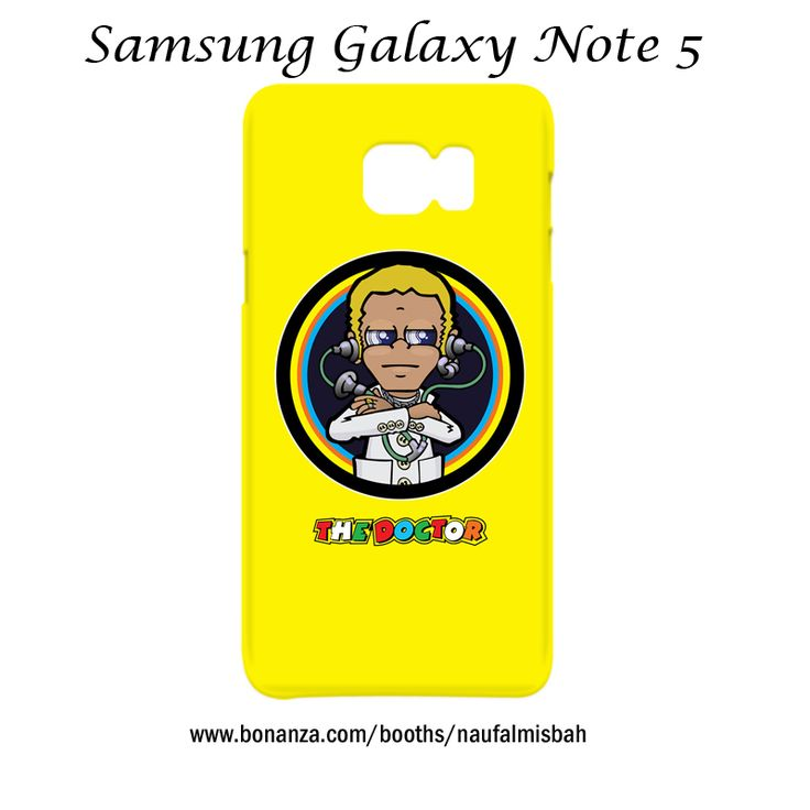 Valentino Rossi The Doctor Samsung Galaxy Note 5 Case Cover Wrap Around
