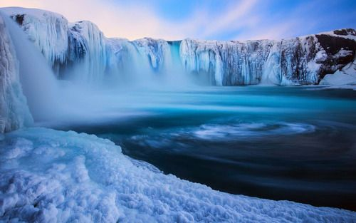Wonderful place shared by Milade Mo96 on We Heart It #nature #blue #snow #ice #cold #iceland #water #ice #blue #frozen #outdoors #followback #instafollow #photooftheday #L4L
