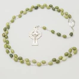 Connemara Marble Irish Rosary Beads | The Irish Store