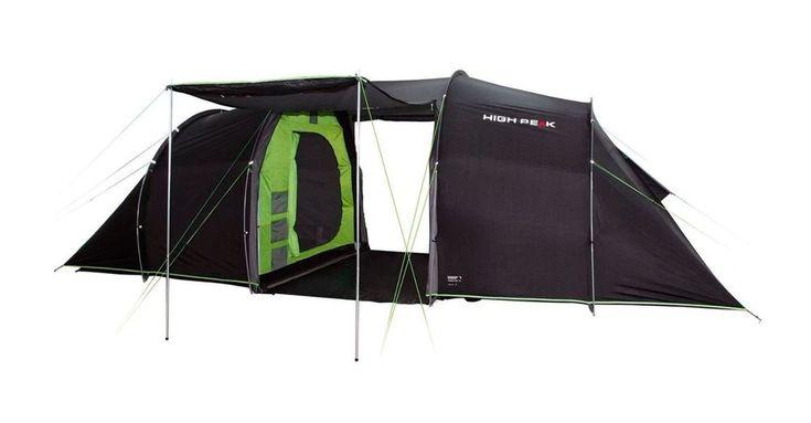 Neu High Peak Tauris 6 Zelt Tunnelzelt Vis a Vis Tent Familienzelt Campingzelt !