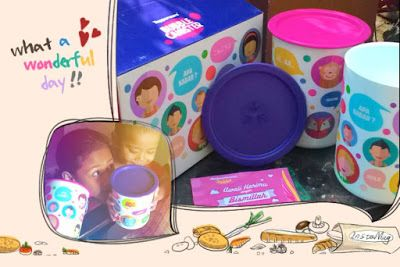 Tupperware Murah Bubble Canister