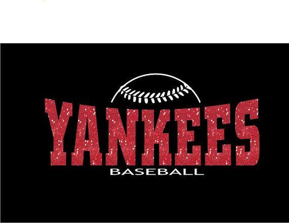 DIY Iron On Bling Transfer Jersey Shirt Sports Personalized Fan Wear Spirit Wear Custom Baseball Softball Team on Etsy, $10.00
