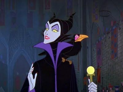 Maleficent's beauty game is fresh.