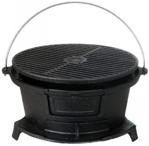 how to clean cast iron bbq grill