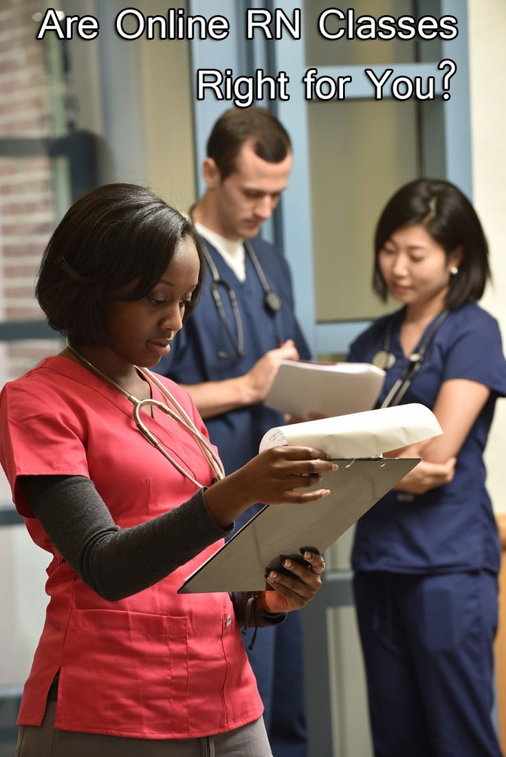 Are Online #RN Classes Right for You? : Advantages of Online NursingPrograms and Difference between On-Campus and Online #Education
