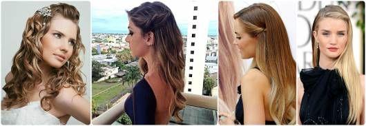 modelos de penteados soltos