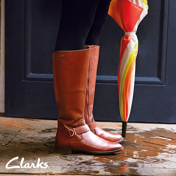 Clarks Autumn/Winter 2014 Collection | Women's boots | Mint Treat |  Waterproof boots