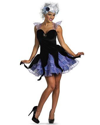 Ursula Costume | Adult Womens Disney Ariel Little Mermaid Halloween Costumes