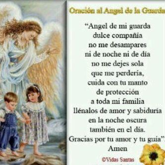Angelito De Mi Guarda Oracion Los ángeles Blog De Los Recursos De