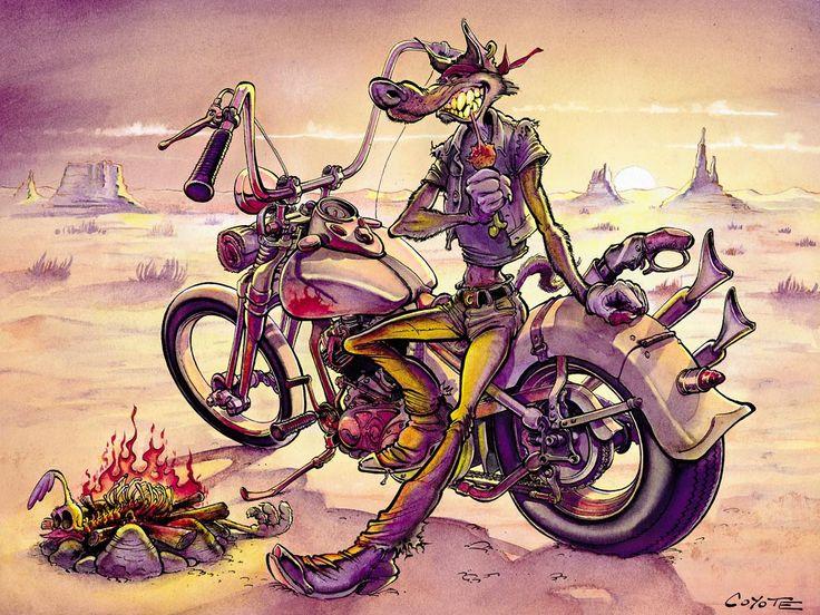 Coyote le papa de litteul kevin et mammouth piston wallpaper rides riders - Dessin de coyote ...