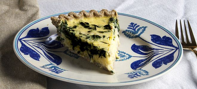 Quiche Florentine #vegan egg recipe   vary with smoked paprika, nutritional yeast, liquid aminos, turmeric, spinach veg pack?