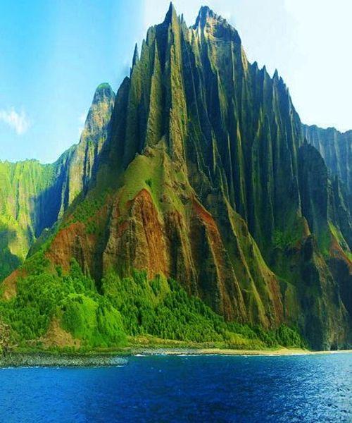 Beautiful Napali Coast Kauai - Hawaii