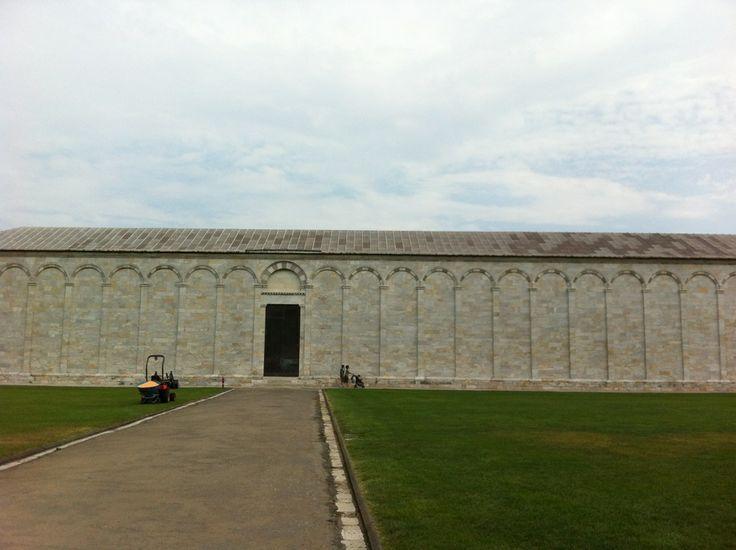 Cimitero monumentale in Pisa, Toscana