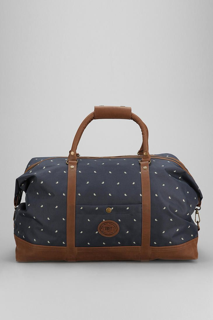 OBEY Ballast Duffle Bag : random obsession with duffle bags