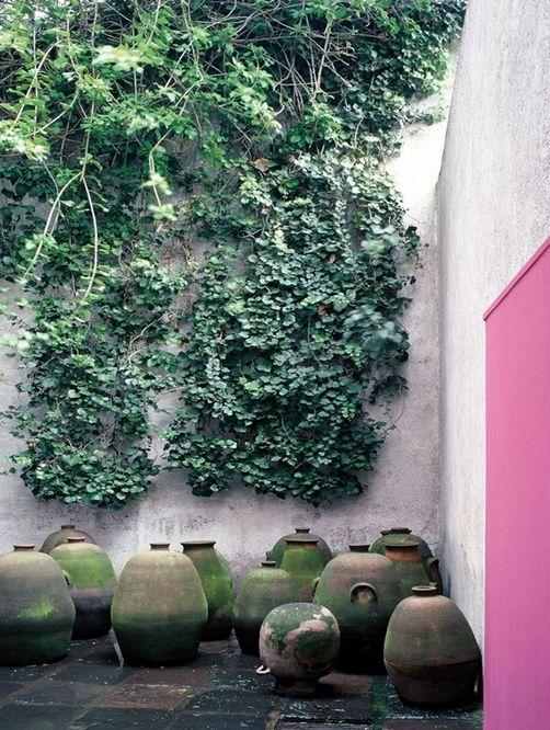 Les 155 meilleures images du tableau jardin mur sur for Jardin 17 luis barragan