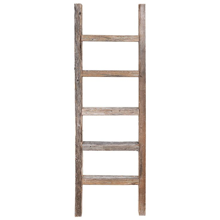 Ladder Decor On Wall : Ideas about wooden ladder decor on old