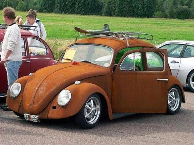 Peinture Effet Rouille Voiture Peinture Antirouille Antique Cars Volkswagen Photo