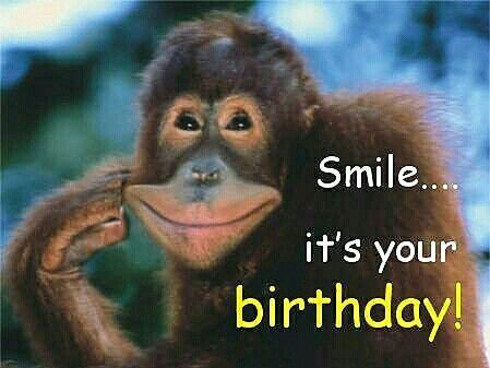 Smile... it's your birthday!