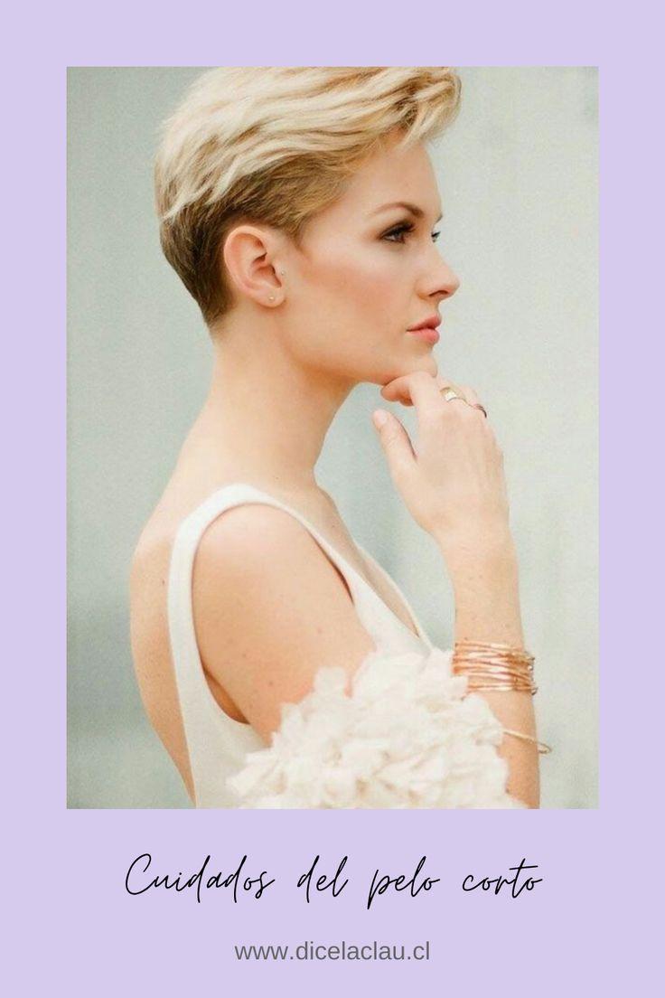 Para conocer los cuidados esenciales que tu pelo corto necesita sigue el link y descubre esas simples cosas que harán que tu cabello corto se vea increíble. #cabellocorto #pelocorto #cuidadosdelpelocorto Pixie Hairstyles, Wedding Hairstyles, Cool Hairstyles, Pixie Haircuts, Hairstyle Ideas, Undercut Hairstyles, Women Pixie Cut, Pixie Cuts, Short Pixie