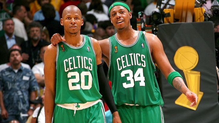 In response to comments on his absence from Paul Pierce's jersey retirement, Ray Allen wrote a love letter on Instagram to the city of Boston, the 2008 championship team, and Pierce himself.