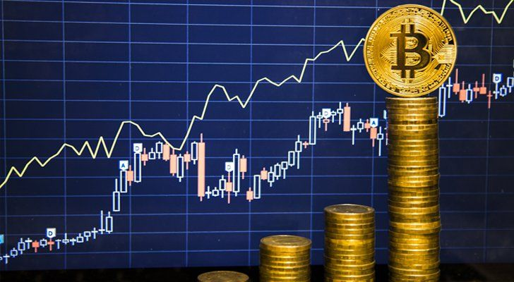 Here's How to Invest in Bitcoin Without Even Buying It | Bitcoin is a complicated play for some people. Investing in the companies that innovate in the blockchain sector is the next best thing.