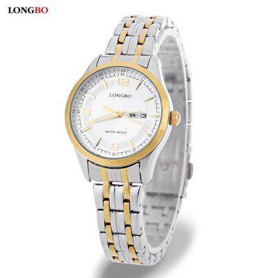 Llévalo por solo $49,500.LONGBO 80145L reloj de cuarzo de las mujeres.