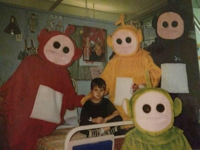Teletubbies hospital visit [bad vibes]   fun funny funny pics