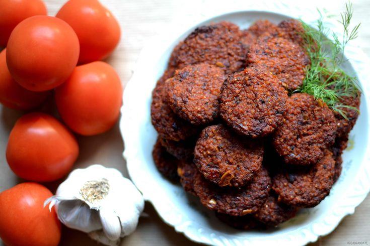 Pomidorowe kotleciki jaglane