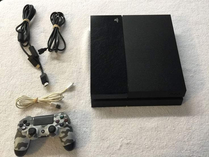 SONY PLAYSTATION 4 / PS4 GAME CONSOLE MODEL CUH-1115A & CONTROL - BUNDLE - USED #Sony