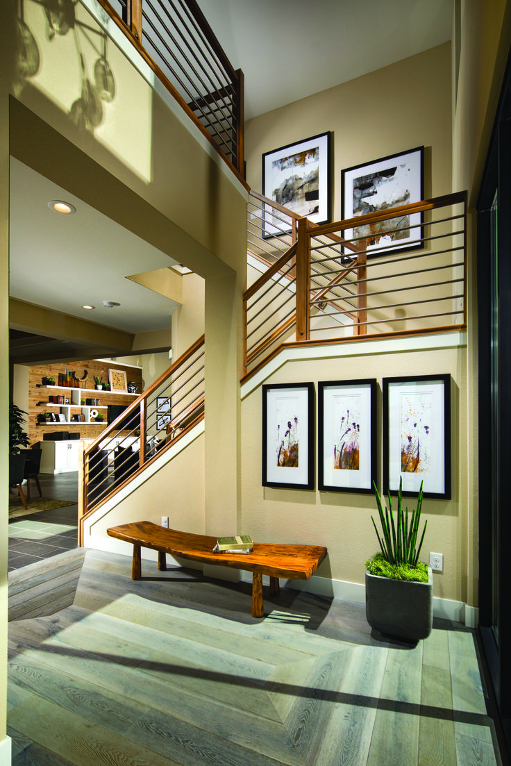 Descend Down This Beautiful Staircase In Style, From The Sierra Creek At  Bella Vista Ranch