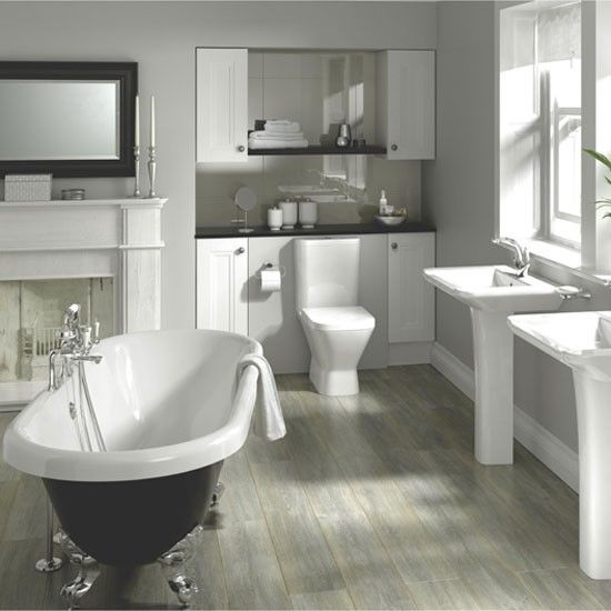 Manhattan/Dorchester bathroom suite from Fired Earth | housetohome.co.uk