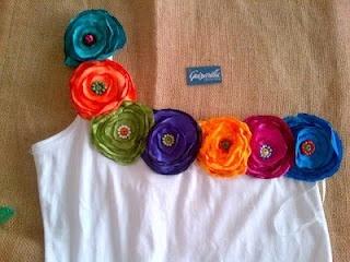 Guizarilla Collection: blusas decoradas con flores