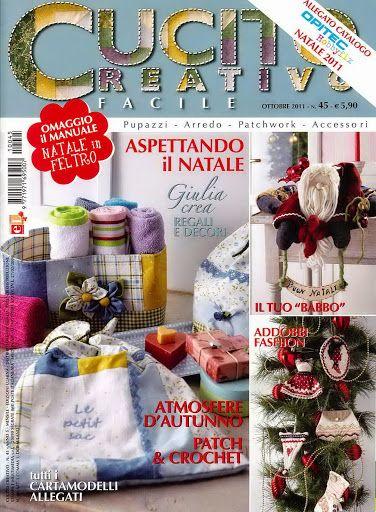 Cucito Creativo Facile No. 045 - Baul Derevistas - Picasa Web Albums