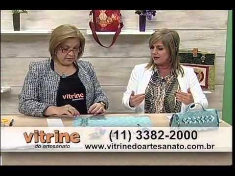 Necessaire em Patchwork com Ana Cosentino - Vitrine do Artesanato na TV