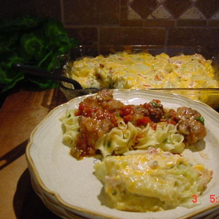 This is one of my favorite ways to prepare cabbage. It is easy, flavorful and looks like you did a lot of work!  A baked cabbage recipe with onion, green pepper, and a creamy sauce, topped with a spicy cheddar cheese mixture.  Enjoy!   The photo is my own.  Adapted from a recipe by Diana Rattray.