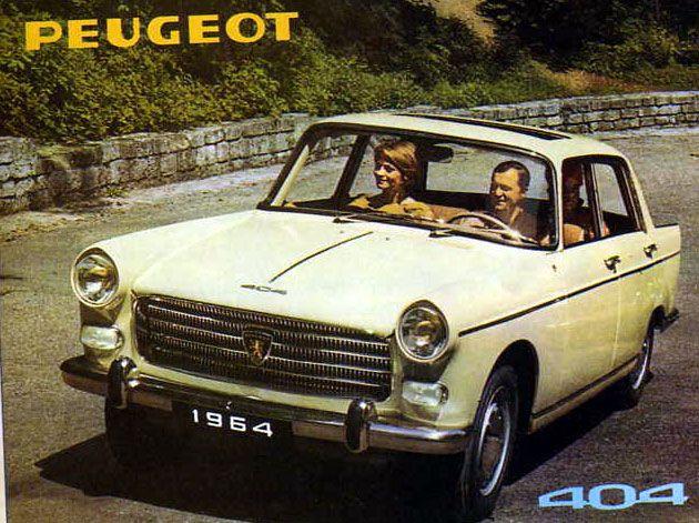 Peugeot 404 Depliant