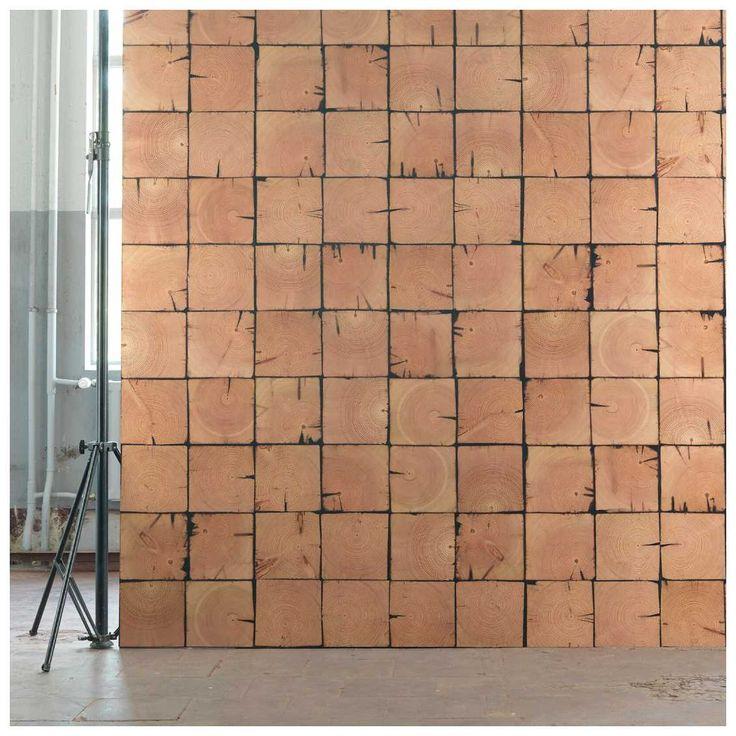#Sloophout #Behang met naturel hout look. Ontworpen door Piet Hein Eek voor NLXL | MisterDesign