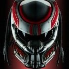 Predator 2, Motorcycle Helmet (Handmade)