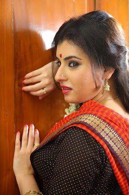 Saree navel doubt wearing hot below