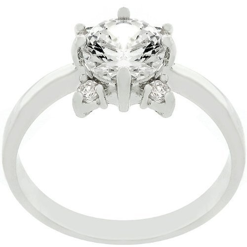 Nvie's Clear Rose Ring