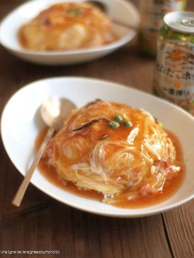 天津飯。 by ささきのりこ。さん | レシピブログ - 料理ブログのレシピ ...