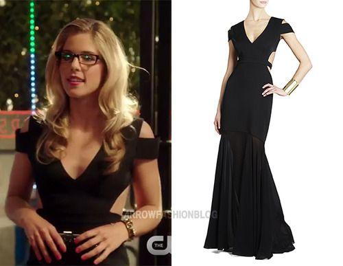 Felicity black dress