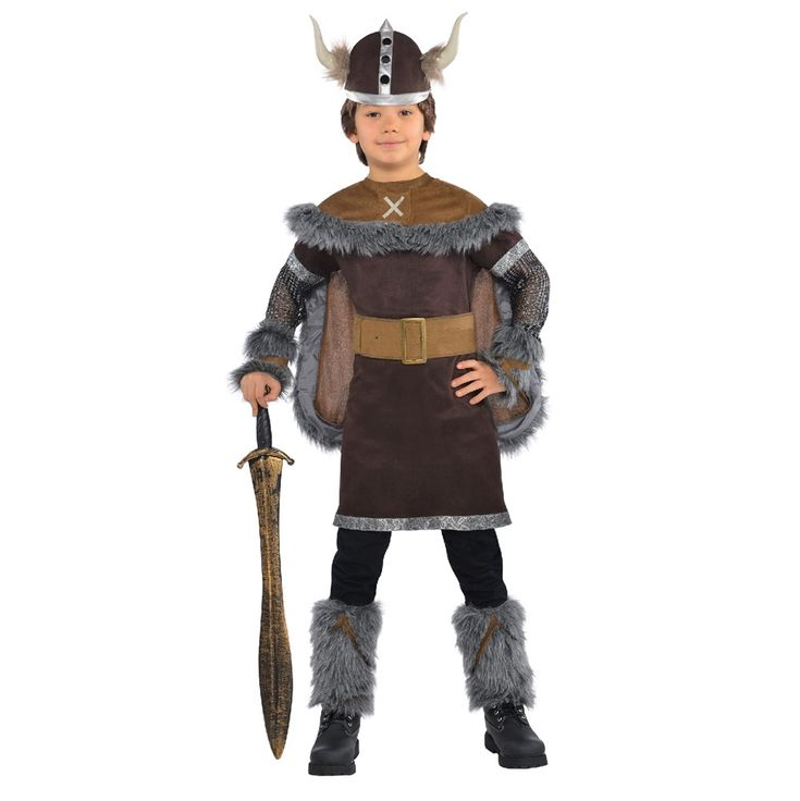 Disfraz Guerrero Vikingo Infantil - Comprar Online {Miles de Fiestas}