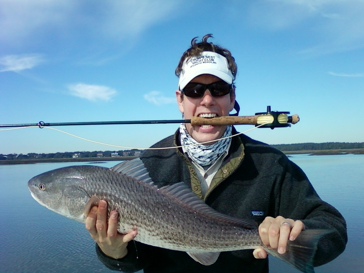 Redfish on the fly 11/29/09
