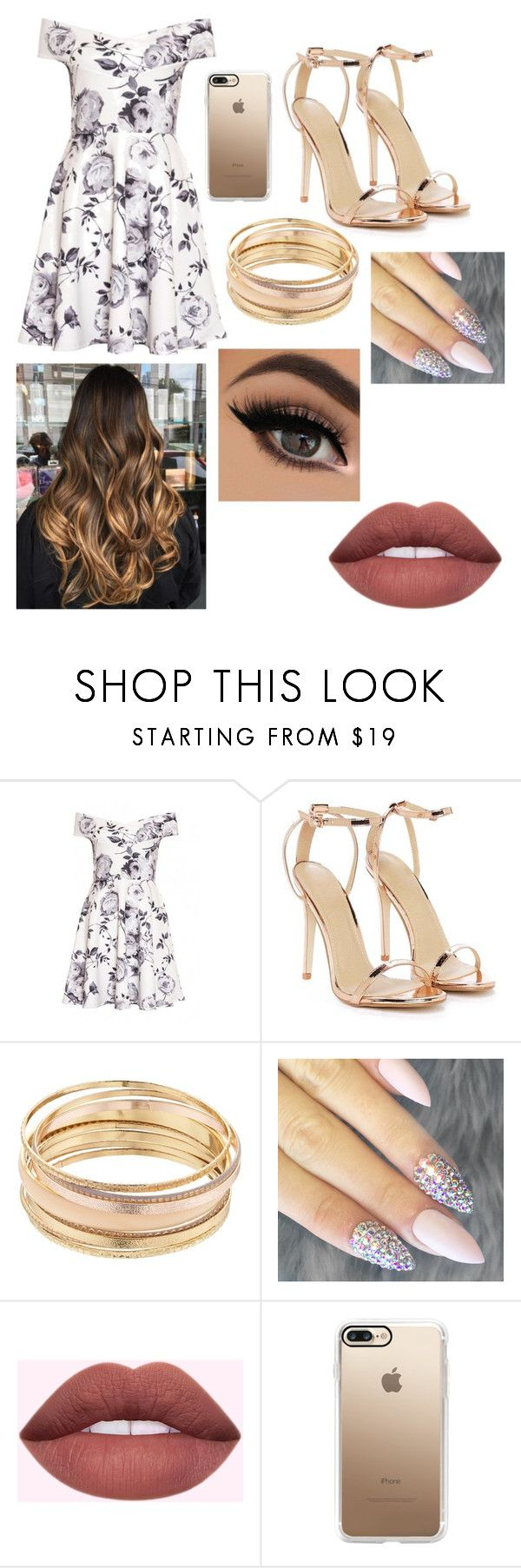 """Classy look"" by daphne-gramling ❤ liked on Polyvore featuring Nasty Gal, Mudd and Casetify"